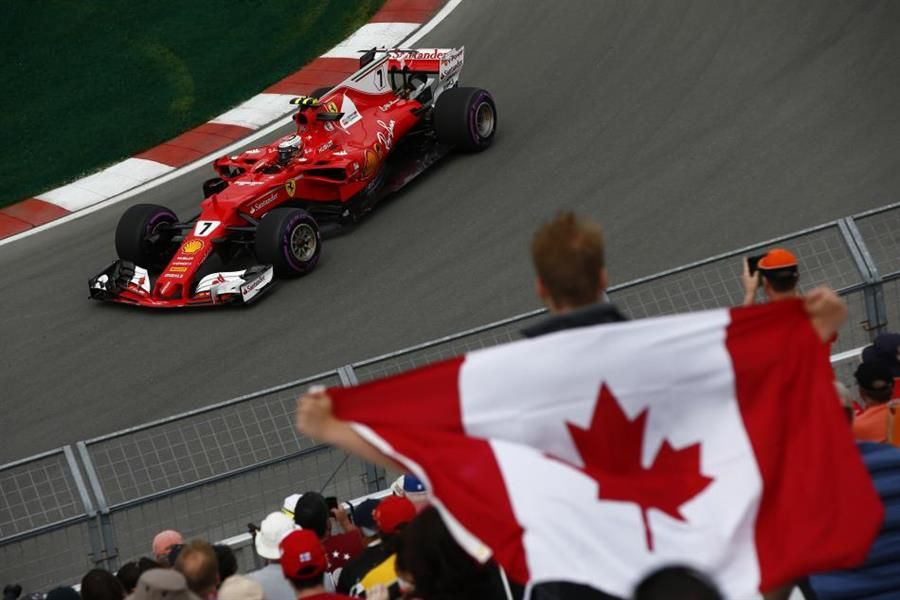 Kimi takes over at the top of Canadian GP practice timesheets
