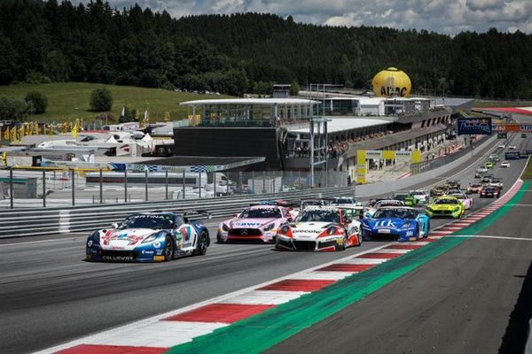 Corvette one-two at Red Bull Ring ADAC GT Masters