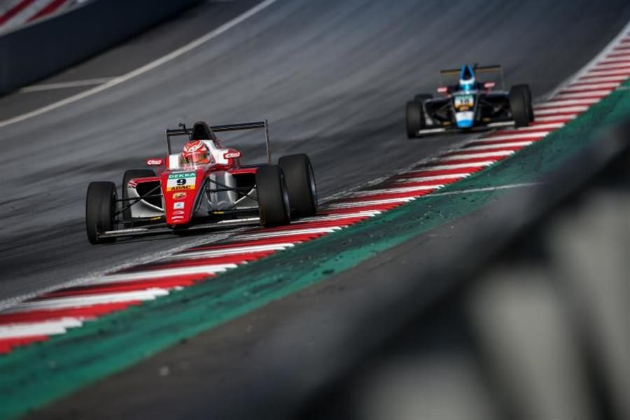 Double pole at Red Bull Ring ADAC F4 for Prema's Marcus Armstrong