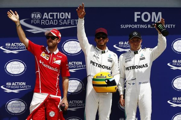 Hamilton on pole for Canadian Grand Prix