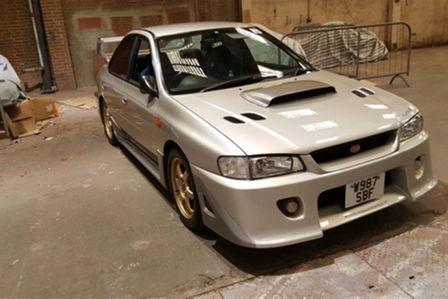 2 0l 2000 Subaru Impreza Wrx Sti Type Ra S201 Sells For 11 880 At