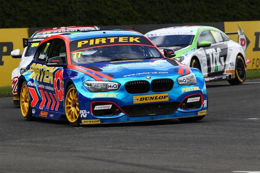 Andrew Jordan and Pirtek leave Croft BTCC with a triple score