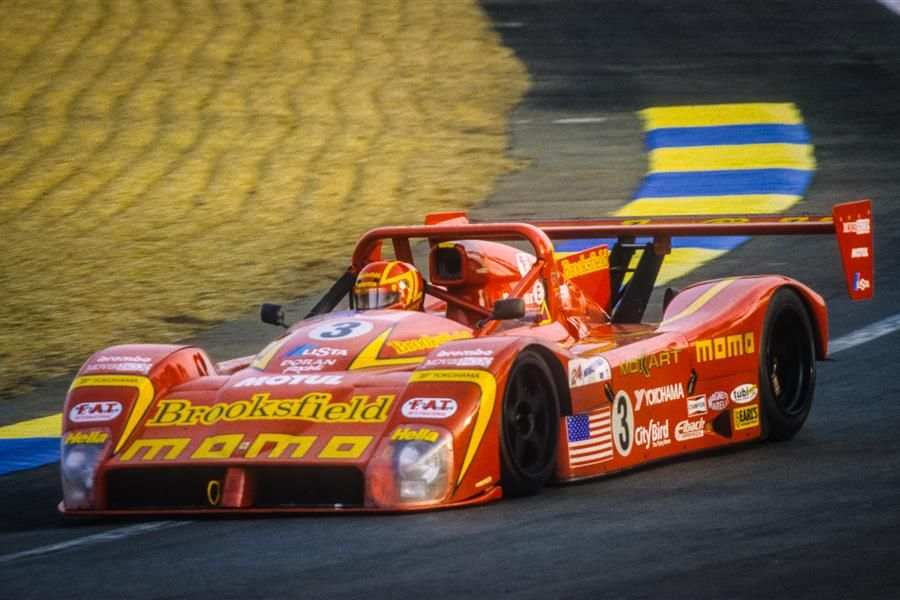 Le Mans Ferraris at Chantilly
