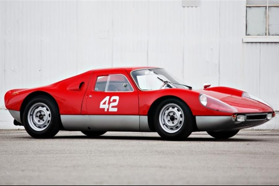 Porsche Four Cam racer at Goodings Pebble Beach Auction