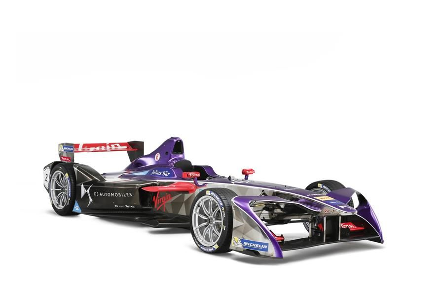 All-British line-up: Lynn, Bird and Sir Richard Branson for DS Virgin Racing in New York Formula E