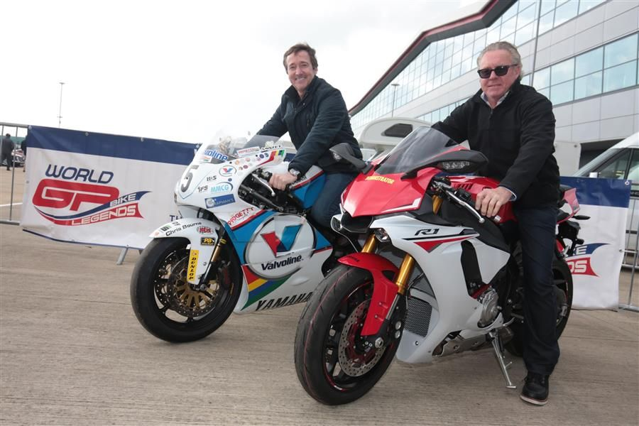 500cc World GP Bike Legends Gardner and Spencer to race A35s at Silverstone Classic