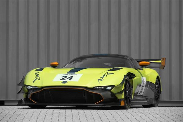 Aston Martin's wildest-ever car - the track-only Aston Martin Vulcan