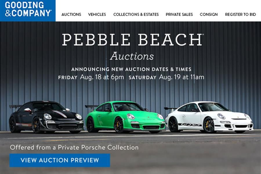 Evolution of the GT3 RS at The Pebble Beach Auctions