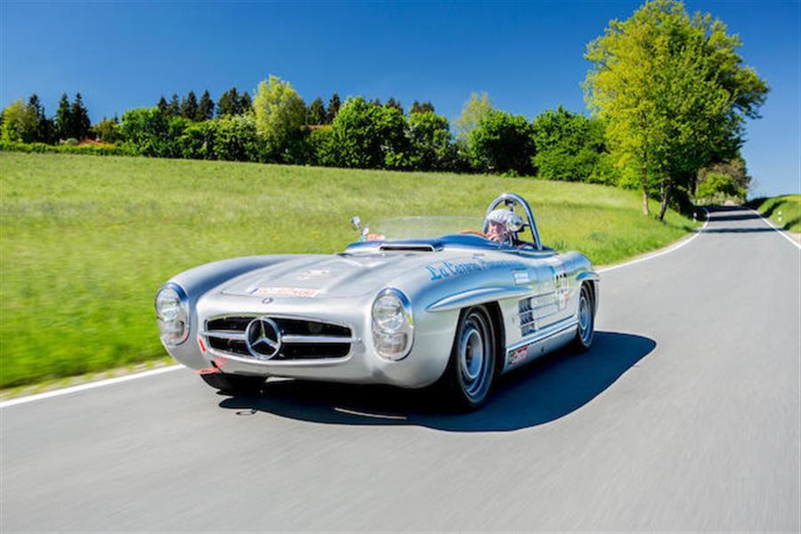 1957 Mercedes Benz 300 SLS Competition Roadster At Bonhams Chantilly Sale