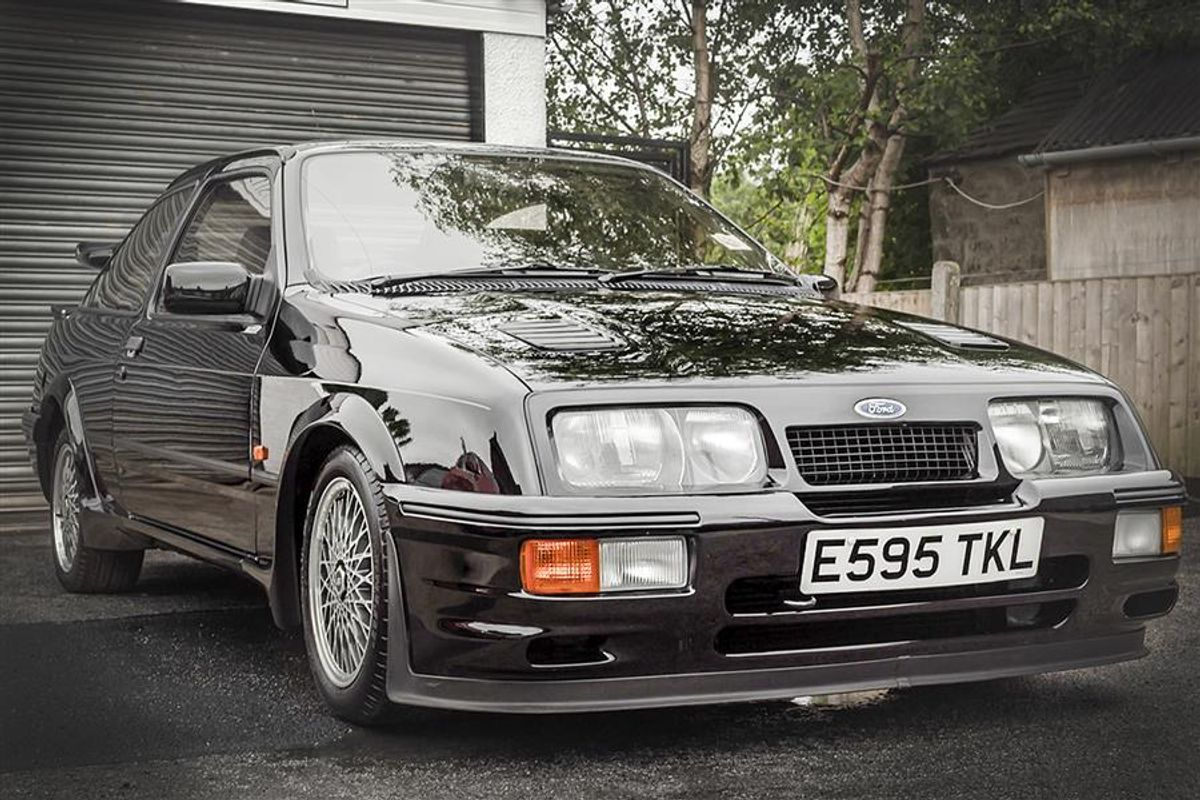 Ford Sierra Cosworth Rs500 Among Low Mileage Lots At Silverstone