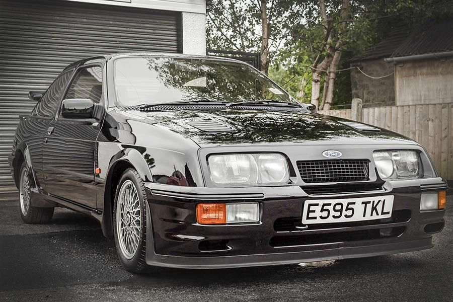 Ford Sierra Cosworth RS500 among low mileage lots at Silverstone Classic Sale