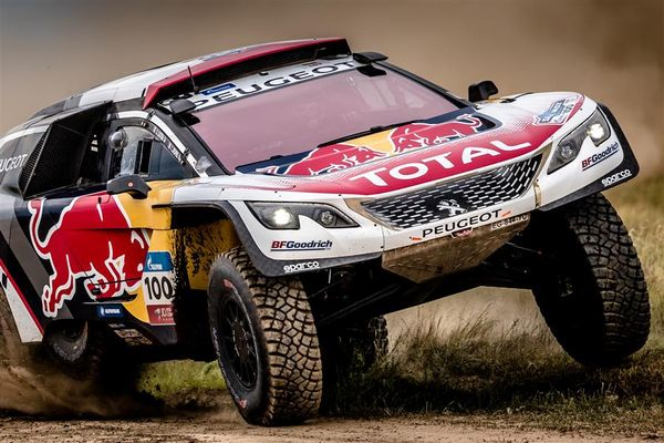 Peugeot DKR Maxi takes third victory on 4th stage of Silk Way Rally