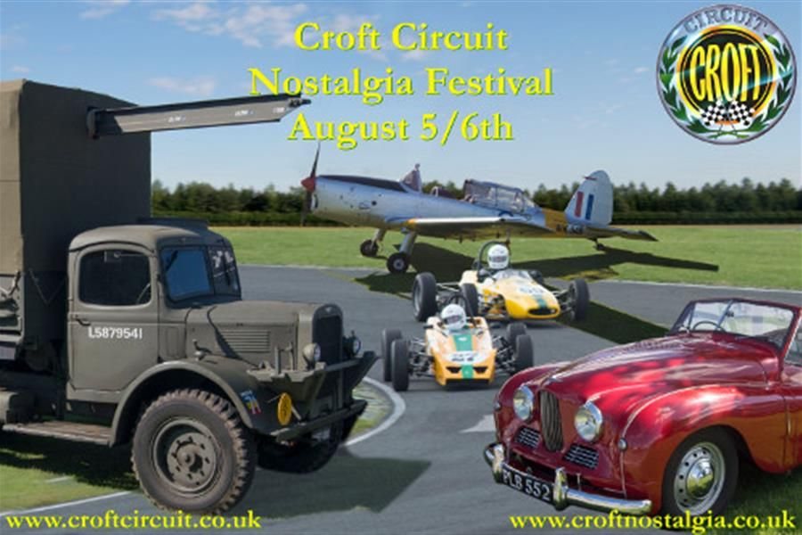 Roll back the years at Croft Nostalgia Festival