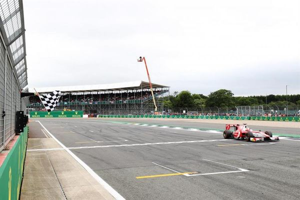 Leclerc flies to fifth F2 win of the season in Silverstone Feature Race