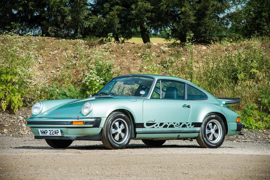 113 classic road cars and 24 race cars under the hammer at Silverstone Classic