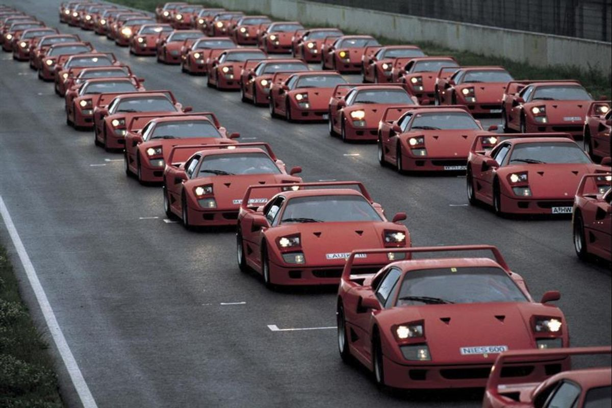 30th anniversary of the Ferrari F40