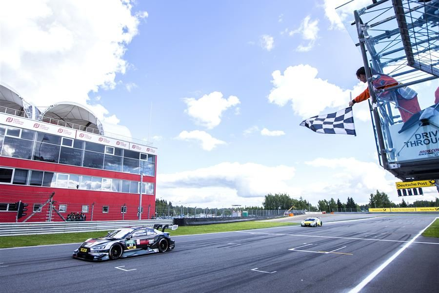 Rast in front of 'Rocky' as Audi take one-two win in Moscow DTM