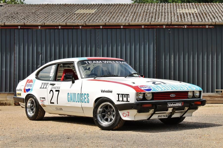 Race Cars For Sale >> 1980 Ford Capri Group 1 Fia On Offer At Silverstone Classic Race Car