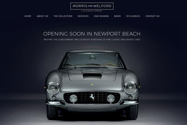 Morris & Welford - Classic Car Dealer