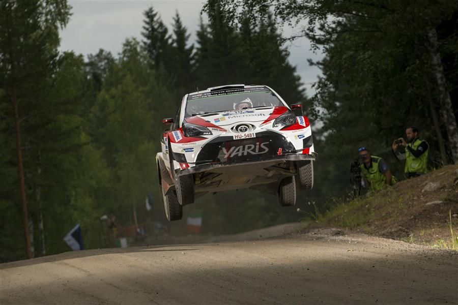 Rally Finland: Lappi carries lead into Sunday; heartbreak for Latvala