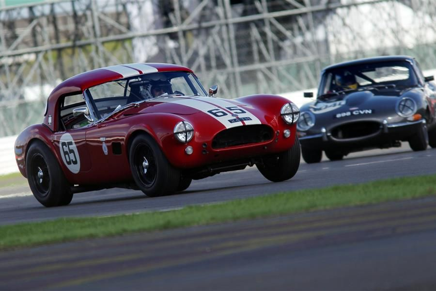 Silverstone Classic's 22 races feature iconic cars from more than eight decades