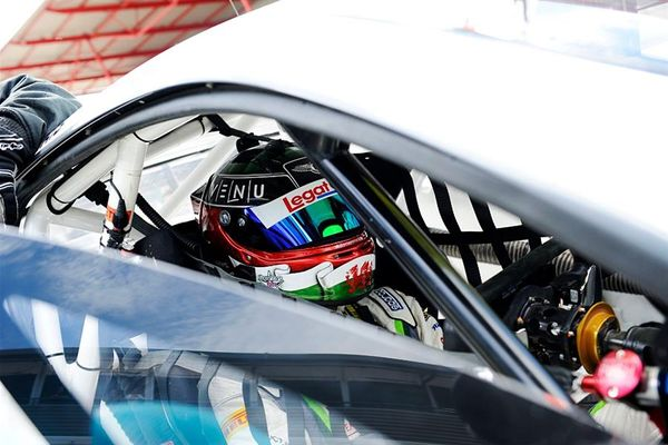 Seb Morris and Rick Parfitt Jnr ready for Brands GP British GT challenge