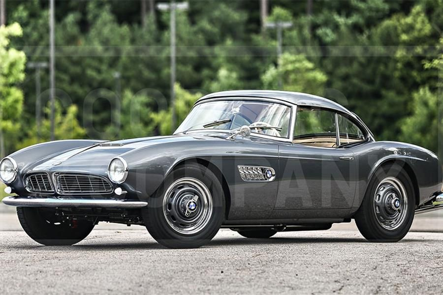 Sensational 1958 BMW 507 Series II at The Pebble Beach Auctions