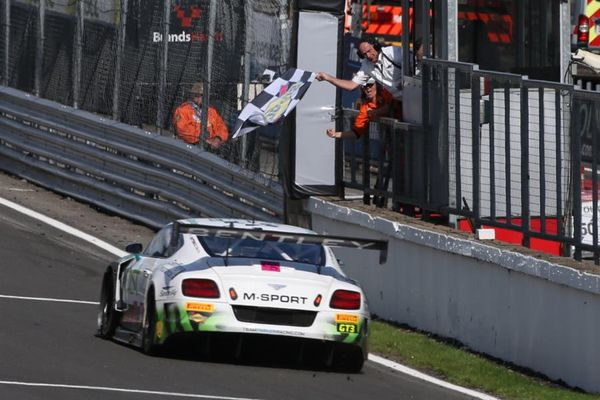 British GT title contenders Morris and Parfitt Jnr claim series lead