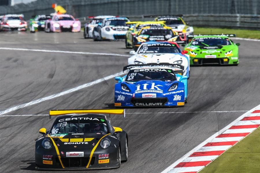 Alex MacDowall rues frustrating GT Masters Nurburgring weekend