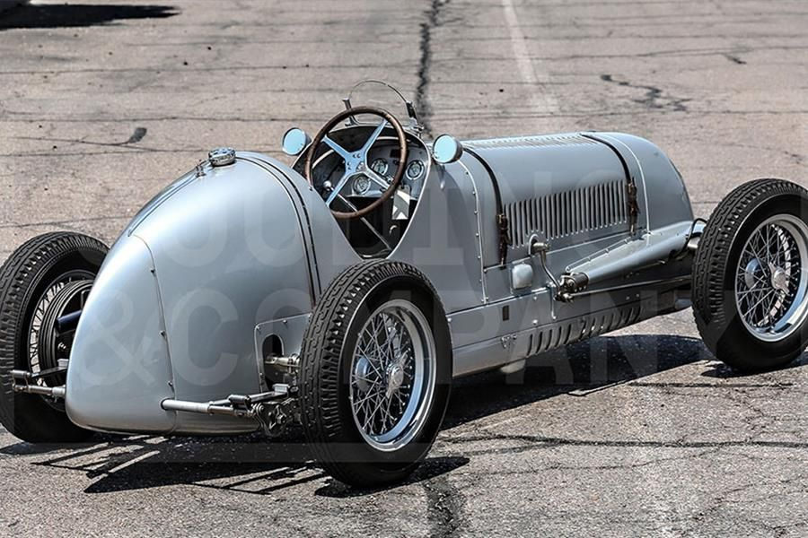 Historic and genuine 1937 Maserati 6CM to be offered by Gooding & Co at Pebble Beach