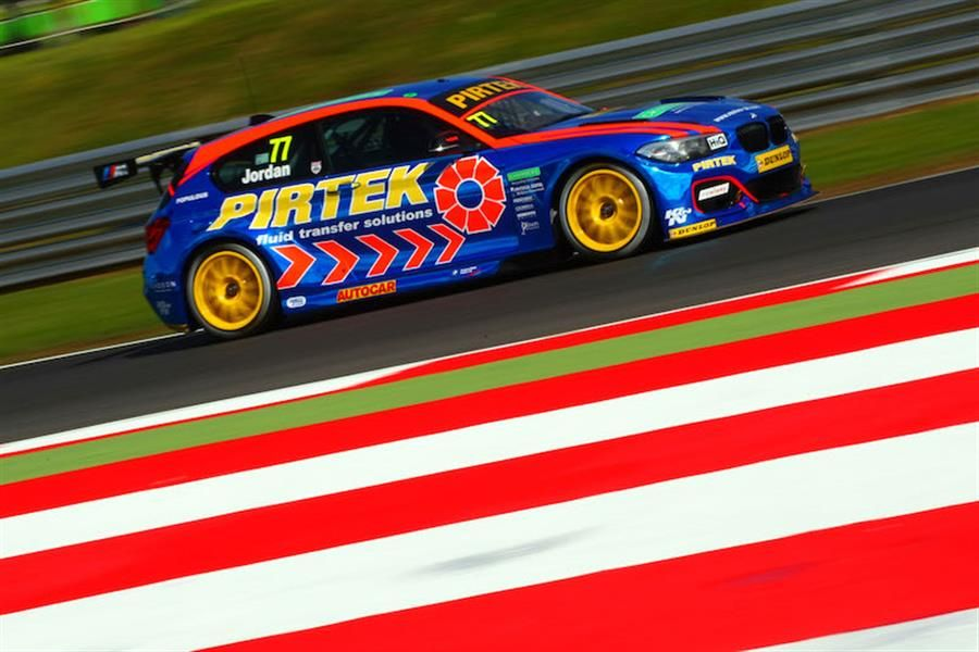 Andrew Jordan and Pirtek Racing ready to bounce back at Knockhill BTCC