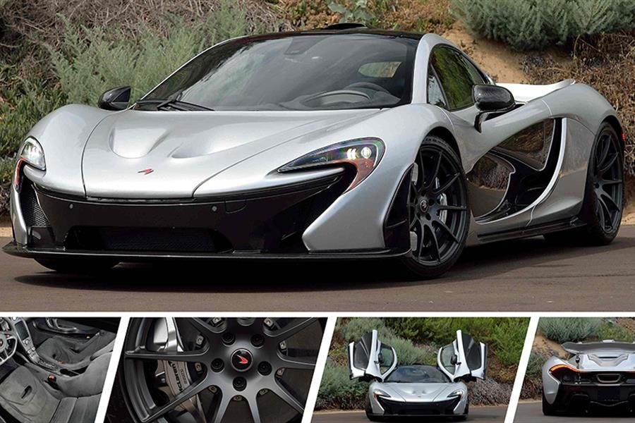 McLaren P1 set to cross the block at Mecum Monterey Auction