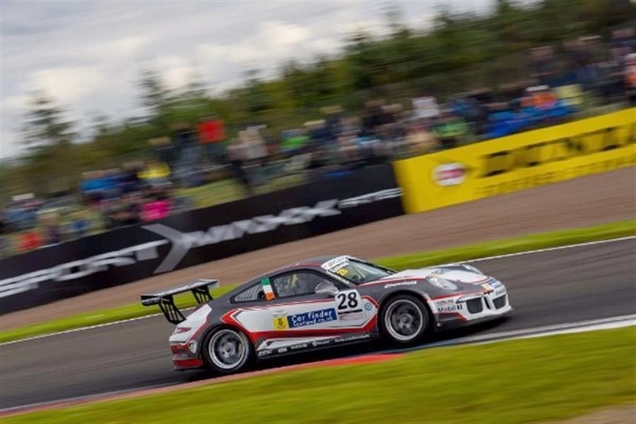 Charlie Eastwood Carrera Cup GB Title Hopes Continue with Victory at Knockhill