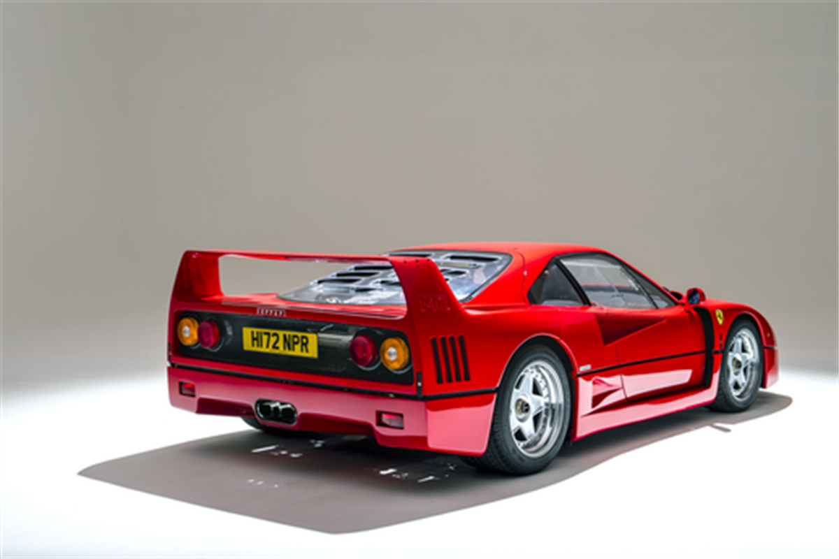Ferrari F40 heads 70 car line up for exclusive Salon Prive Sale
