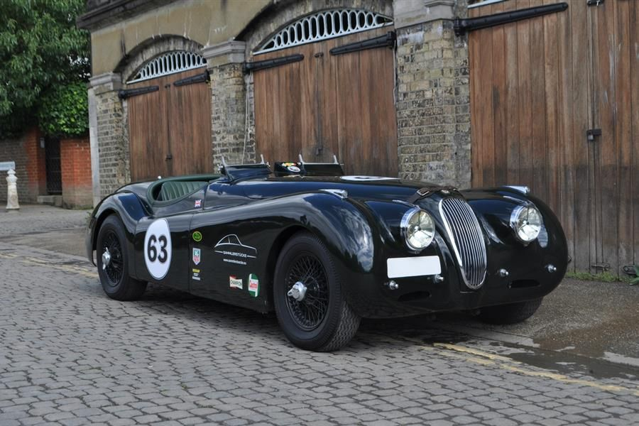Famous alloy bodied XK120 racer and Sauber Mercedes C9 headline COYS Fontwell Auction