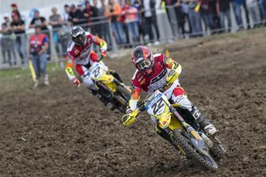 Jasikonis victory boosts Suzuki for Swedish MXGP