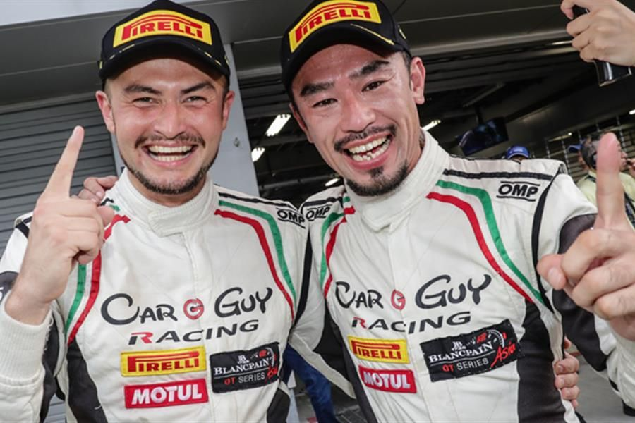 Japanese squad CarGuy Racing, Cozzolino and Yokomizo claim home victory at Fuji