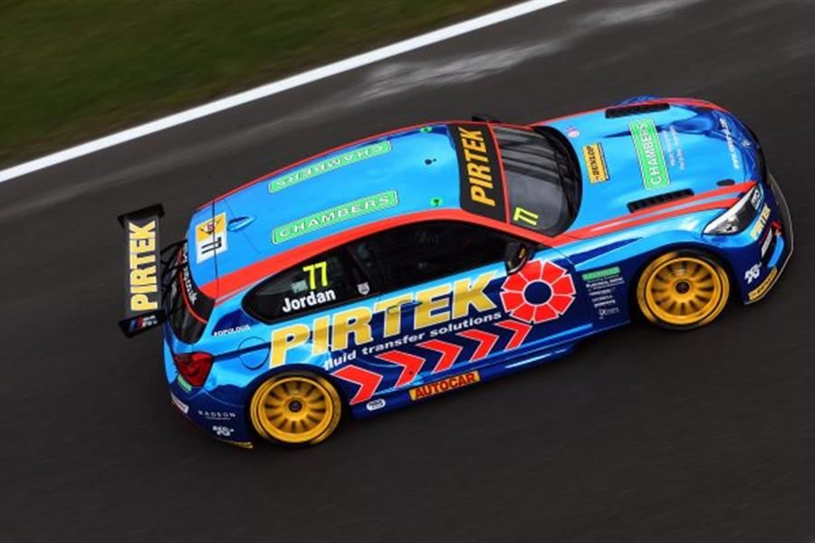 Jordan claims lights to flag victory in Snetterton BTCC Race 3