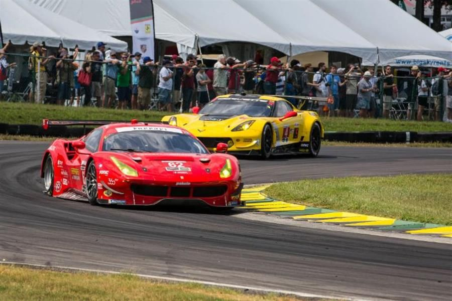 Risi Competizione Collects Podium Finish At VIR