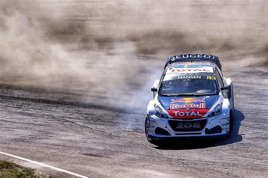 Sébastien Loeb, Timmy Hansen and Kevin Hansen head for France's RX classic