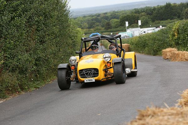 Racecar has a Lotus Elise SC entered in the Shere Hill  Climb and a guest driver in our Caterham 7 Cosworth BDG