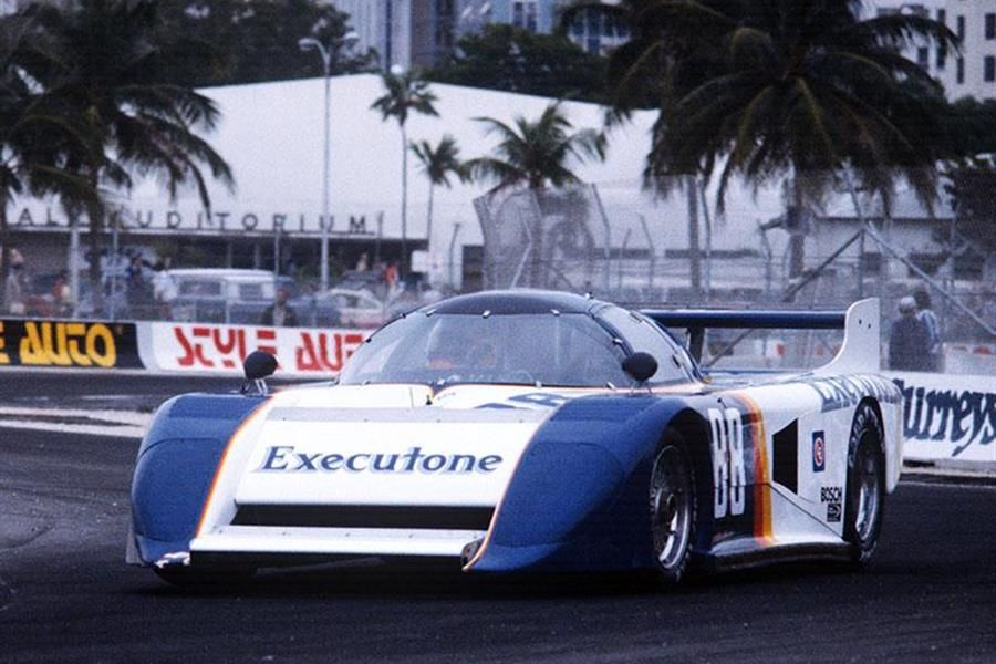 F1's Adrian Newey Reunites with March 83G Prototype in HSR Classic 24 Hour at Daytona
