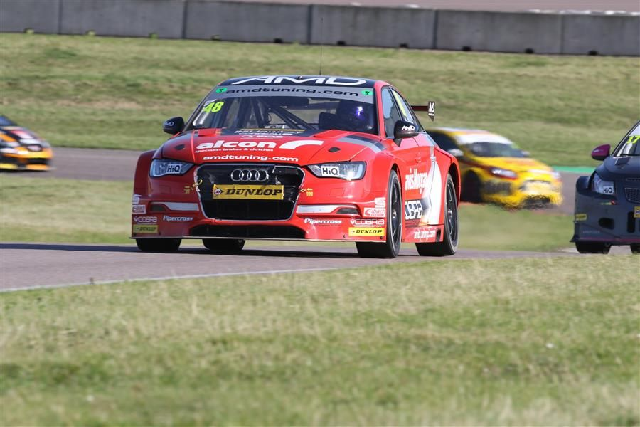 AmDTuning aiming high as BTCC heads for Silverstone