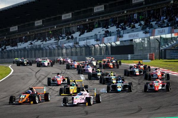 ADAC Formula 4 at the Sachsenring in run-up to the finale