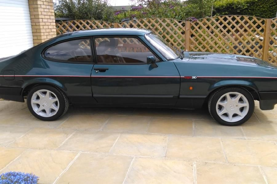 Beautifully restored 1988 Ford Capri 280 Brooklands Turbo Technics tops CCA's fast Ford line-up