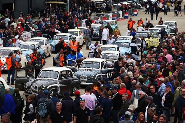Silverstone Classic raises £45,000 for Prostate Cancer UK