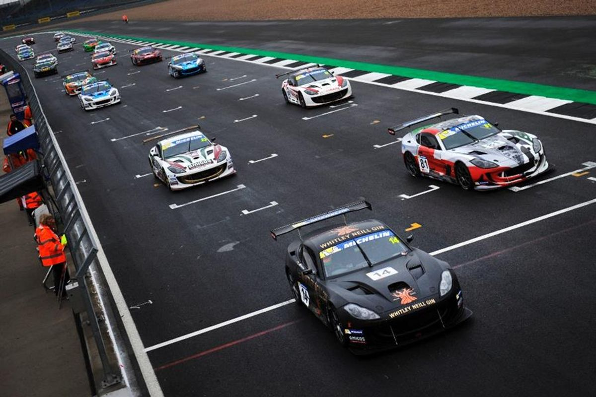 Declan Jones denied Silverstone Ginetta GT4 podium on countback