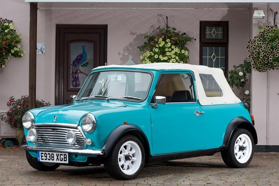 Historics At Brooklands offer 1987 Austin Mini Convertible with no reserve