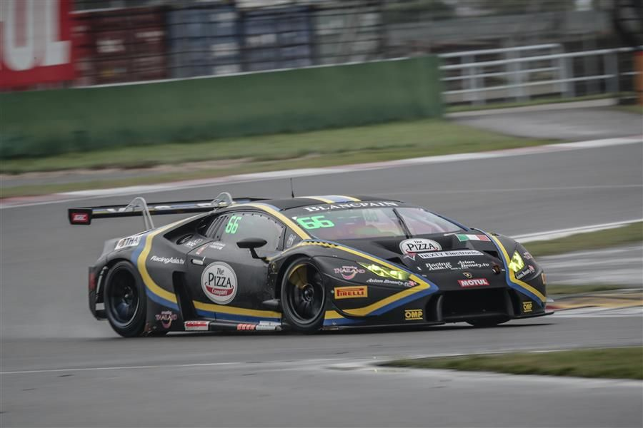 Stuvik and Picariello share Blancpain GT Series Asia poles at wet Shanghai