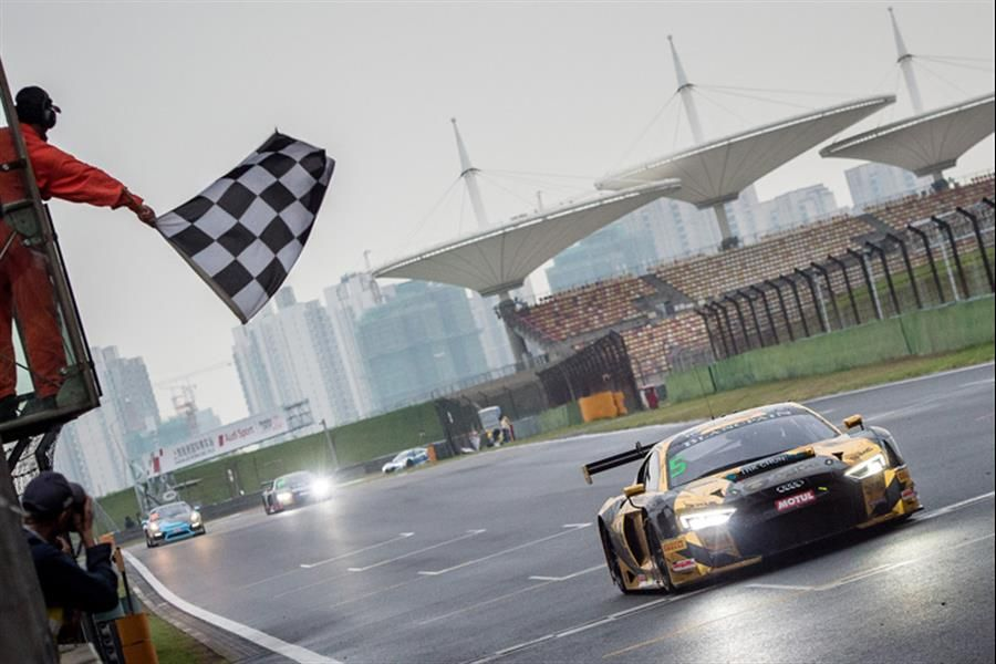 Lee and Thong victorious in wild wet/dry first Blancpain GT race at Shanghai